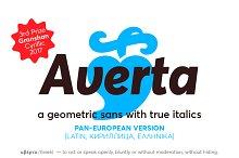 Averta PE (Latin, Greek, Cyrillic)