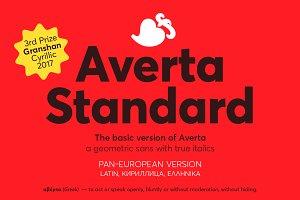 Averta Standard PE (La, Cy, Gr)