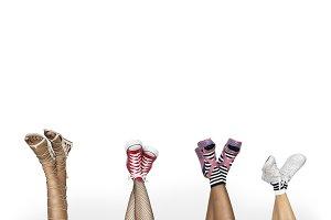 Studio Shoot People Socks (PNG)
