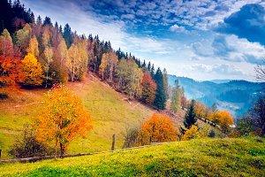 Beautiful mountains landscape.