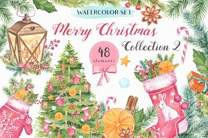 - 50% OFF Merry Christmas Collection