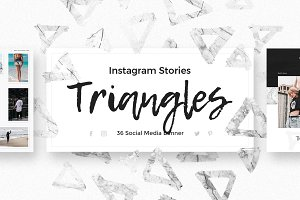 Triangles - Instagram Stories Pack