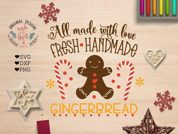 Fresh Handmade Gingerbread