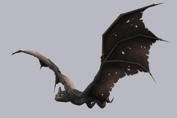 3D Fantasy: PROTOFACTOR  - GIANT BAT fbx only