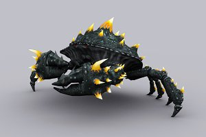 GIANT CRAB fbx only