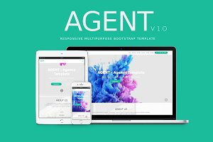 AGENT -OnePage Multipurpose Template