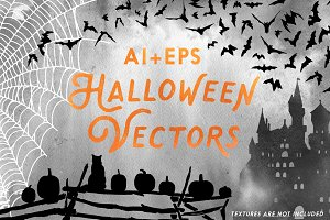 Halloween Illustrated Vectors