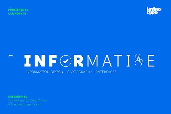 Symbol Fonts: Latinotype - Informative - 50% off