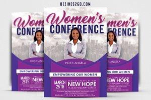 Women's Conference Flyer v3