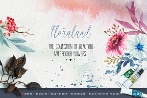 Designer's watercolor bundle