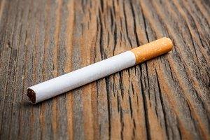 One cigarette