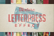 letterpress texture