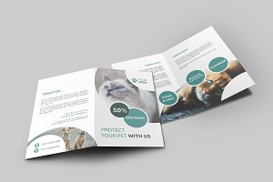 Bi Fold Brochure Pet Shop