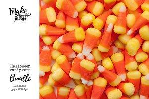 Halloween candy corn photo bundle