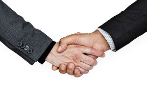 Handshake Business (PNG)