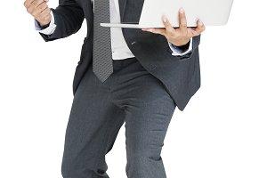 Indian Asian Man Business (PNG)