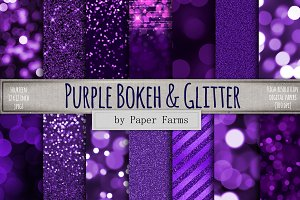 Purple Bokeh Backgrounds