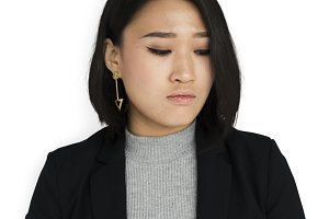 Asian Businesswoman (PNG)