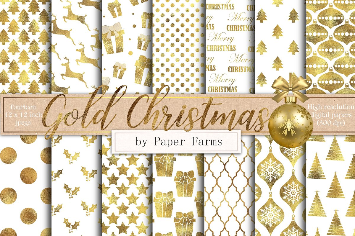 Christmas Background Images Gold.Gold And White Christmas Backgrounds