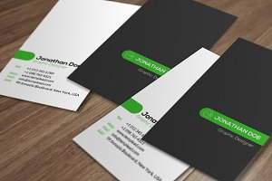 Corporate Business Card SE0326