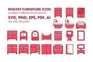Engtay Furniture Icon Pack