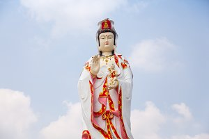 Statue of Guan Yin.