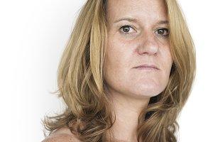 Caucasian Woman (PNG)