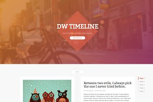 DW Timeline Ghost Theme