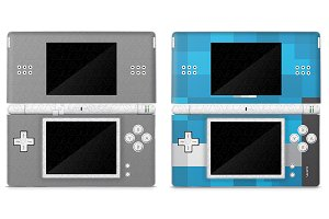 Nintendo DSI Lite Skin Decal Design