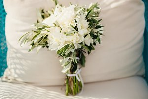 fancy wedding bouquet
