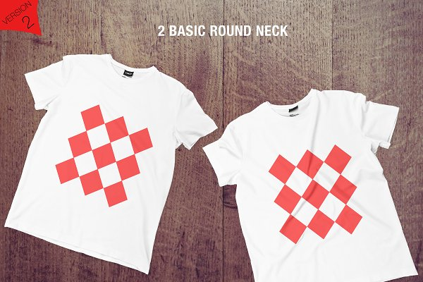 Collar T Shirt Mockup Psd Free Download