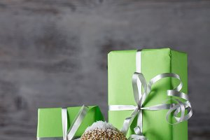 Green Christmas gifts
