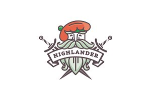 Scottish Highlander Logo