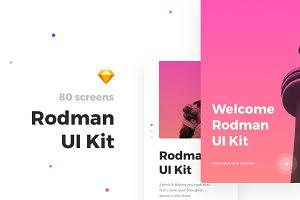 Rodmap Mobile UI Kit