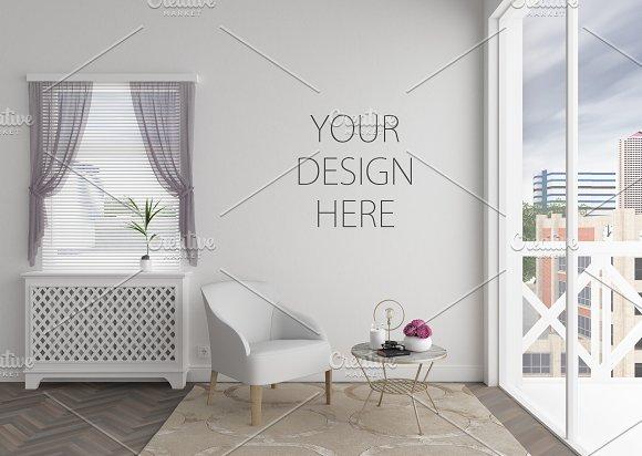 Blank wall mockup bundle-Graphicriver中文最全的素材分享平台