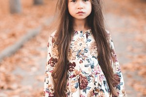 Cute kid girl