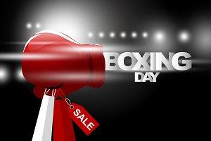 Boxing day sale design
