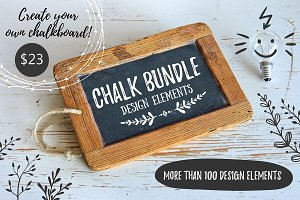 BUNDLE - CHALK design elements!