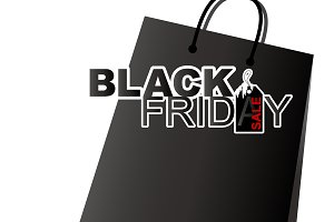 Vector black friday sale design