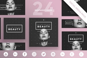 Social Media Pack | Your Skin Beauty