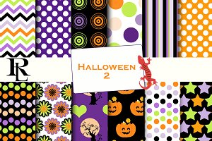 Halloween digital paper 1