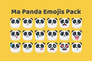 Ma Panda Emojis Pack