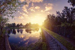 Pond or lake in Florida