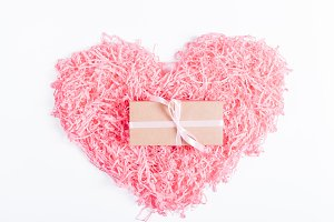 Pink decorative heart