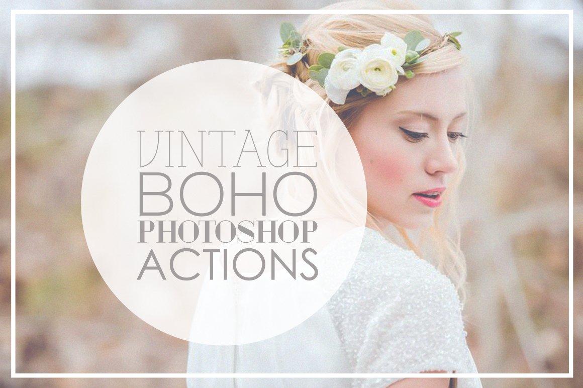 Vintage Wedding Photoshop Actions ~ Actions ~ Creative Market