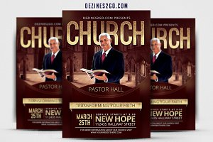 CHURCH Flyer Template v3