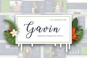 Gavin Powerpoint Template 50% Off!