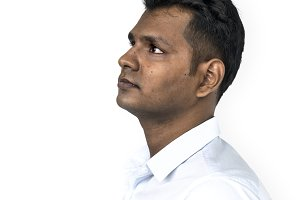 Indian Ethnicity Adult Man (PNG)