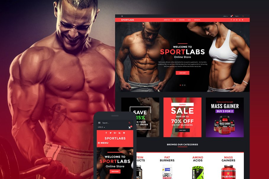 14+ Best Nutrition WordPress Themes & Templates for Healthy 2019 [ Download Now ]