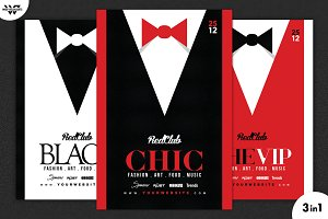3in1 VIP CLASSY SUIT Flyer Template